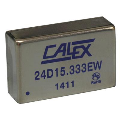 2:1 input range, 10 W Dual DC/DC in a metal DIP case