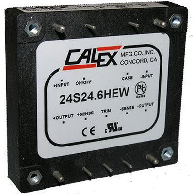 150 watt HEW Series DC/DC Converter with 4:1 input voltage