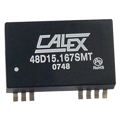 2:1 input range, 3 W Dual surface mount DC/DC