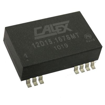 2:1 input range, 5 W Dual surface mount DC/DC