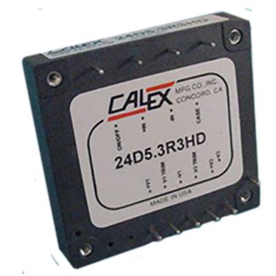 18-36VDC input, 75W, Dual output, isolated Half Brick