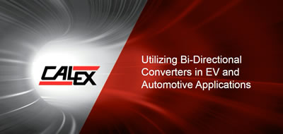 Utilizing Bi-Directional DC-DC Converters in EV and Automotive Applications