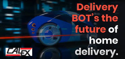 Delivery Robots (BOT's) the future of home delivery