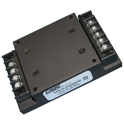 2:1 input range, 40W, isolated Chassis Mount DC/DC