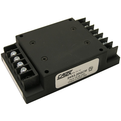 18-36 VDC input, 75W, isolated Chassis Mount DC/DC